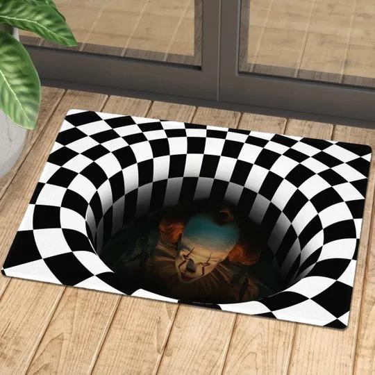 It Pennywise illusionhorror rug 3