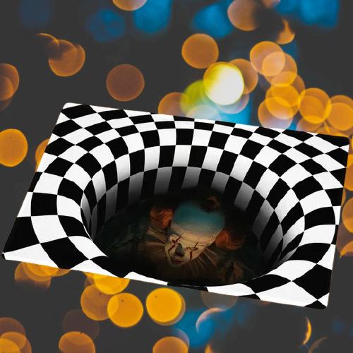 It Pennywise illusionhorror rug 1