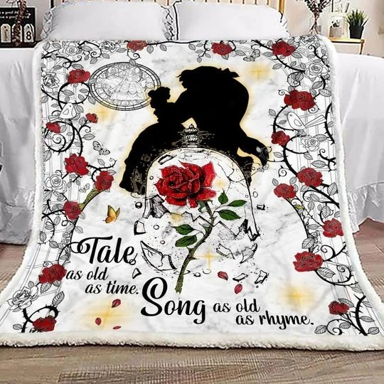 Take as old as time song as old as rhyme blanket