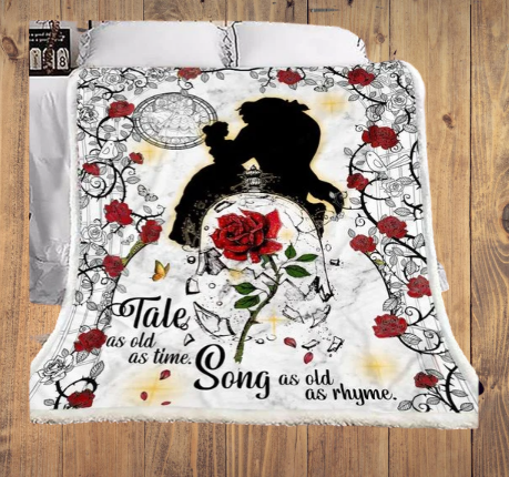 Take as old as time song as old as rhyme blanket 1