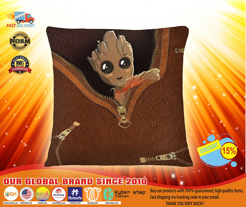 Baby Groot all over print tote bag 2