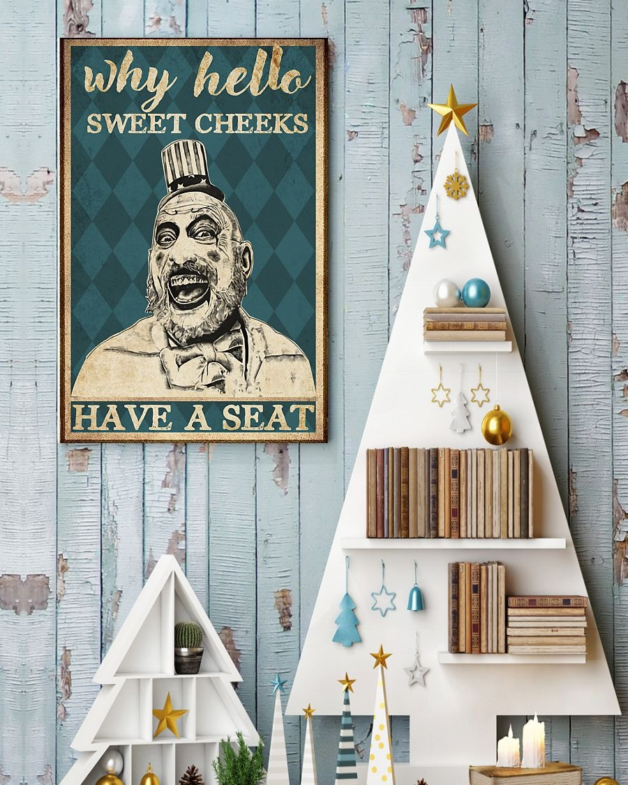 Captain Spauling hello sweet cheeks poster 1