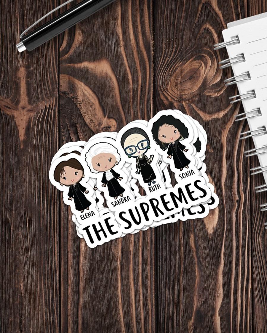 Elena Sandra Ruth Sonia the supremes sticker 3