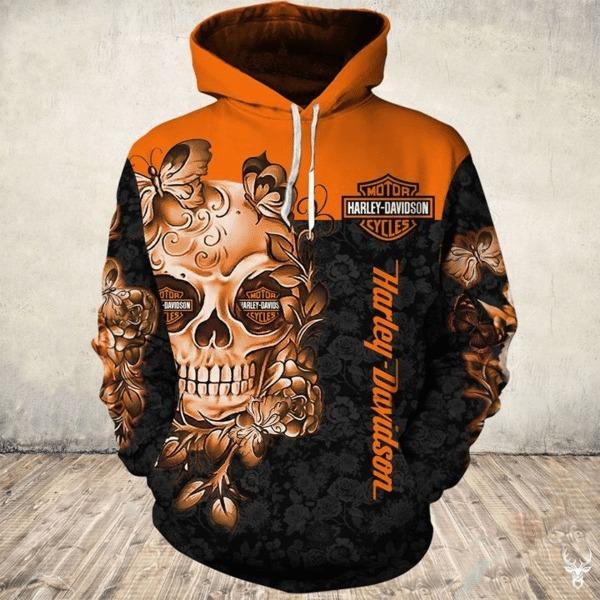 Harley davidson hoodie and legging 3