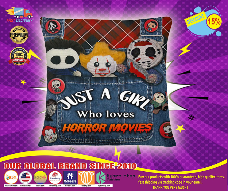Just a girl who loves Horror movies tote bag 3