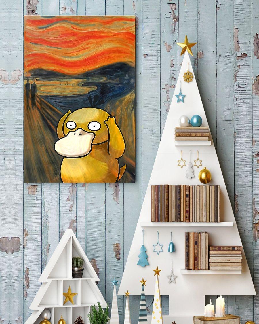 Koduck pokemon the scream art poster 1
