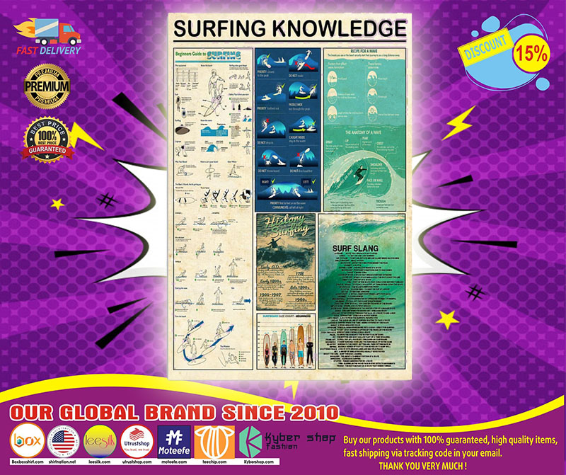 Poster Surfing knowledge 4