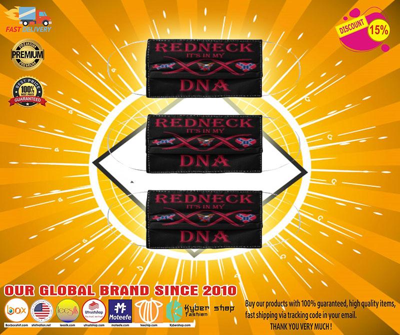 Redneck it's in DNA face mask 3