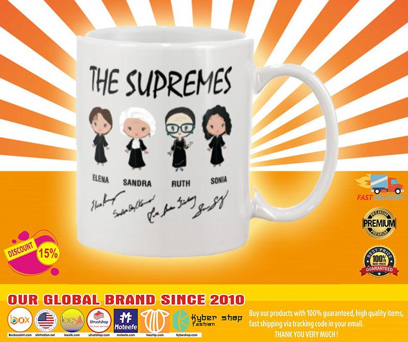Ruth Bader The supremes mug 2