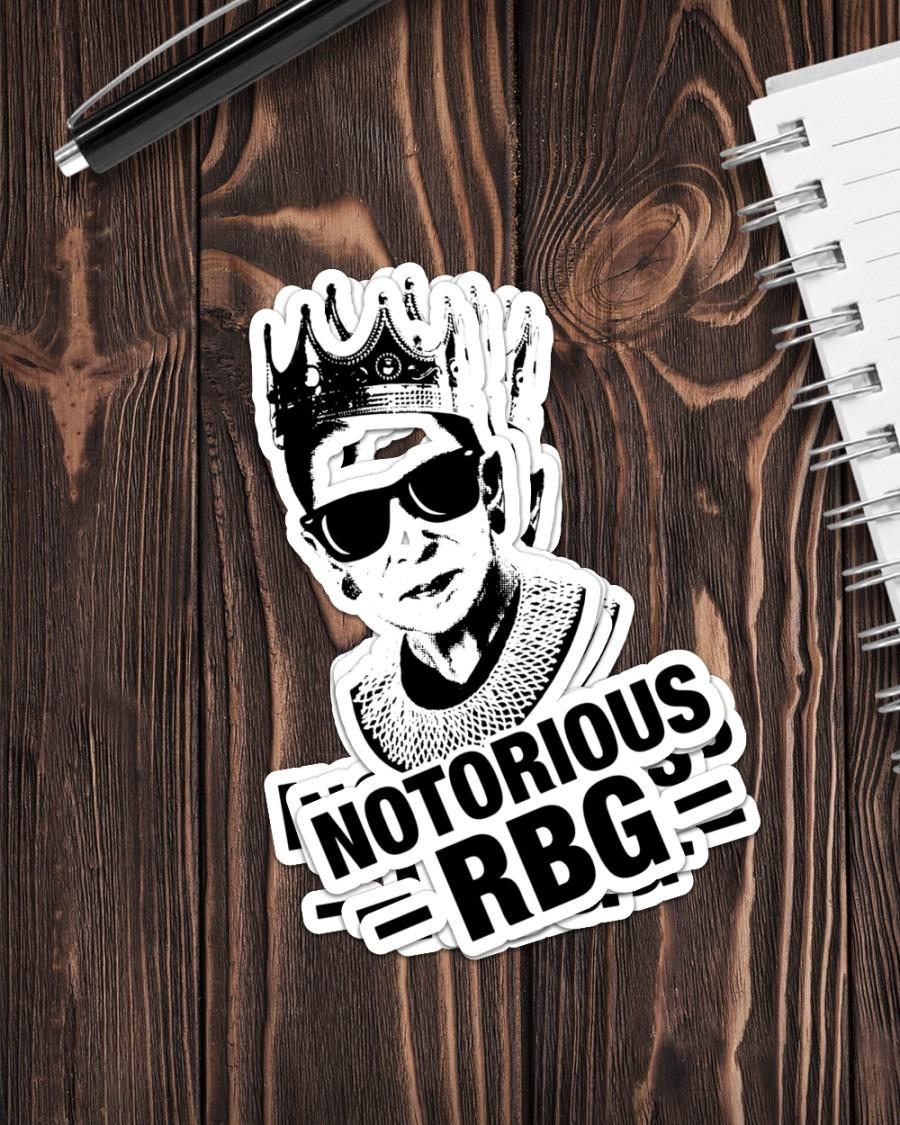 Ruth Bader notorious RBG sticker 3