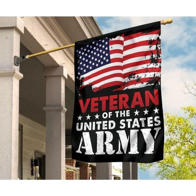 Veteran of the United States Army flag 3