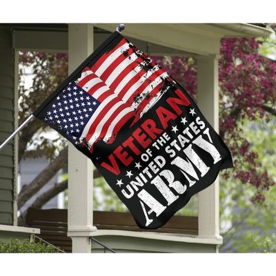 Veteran of the United States Army flag 1