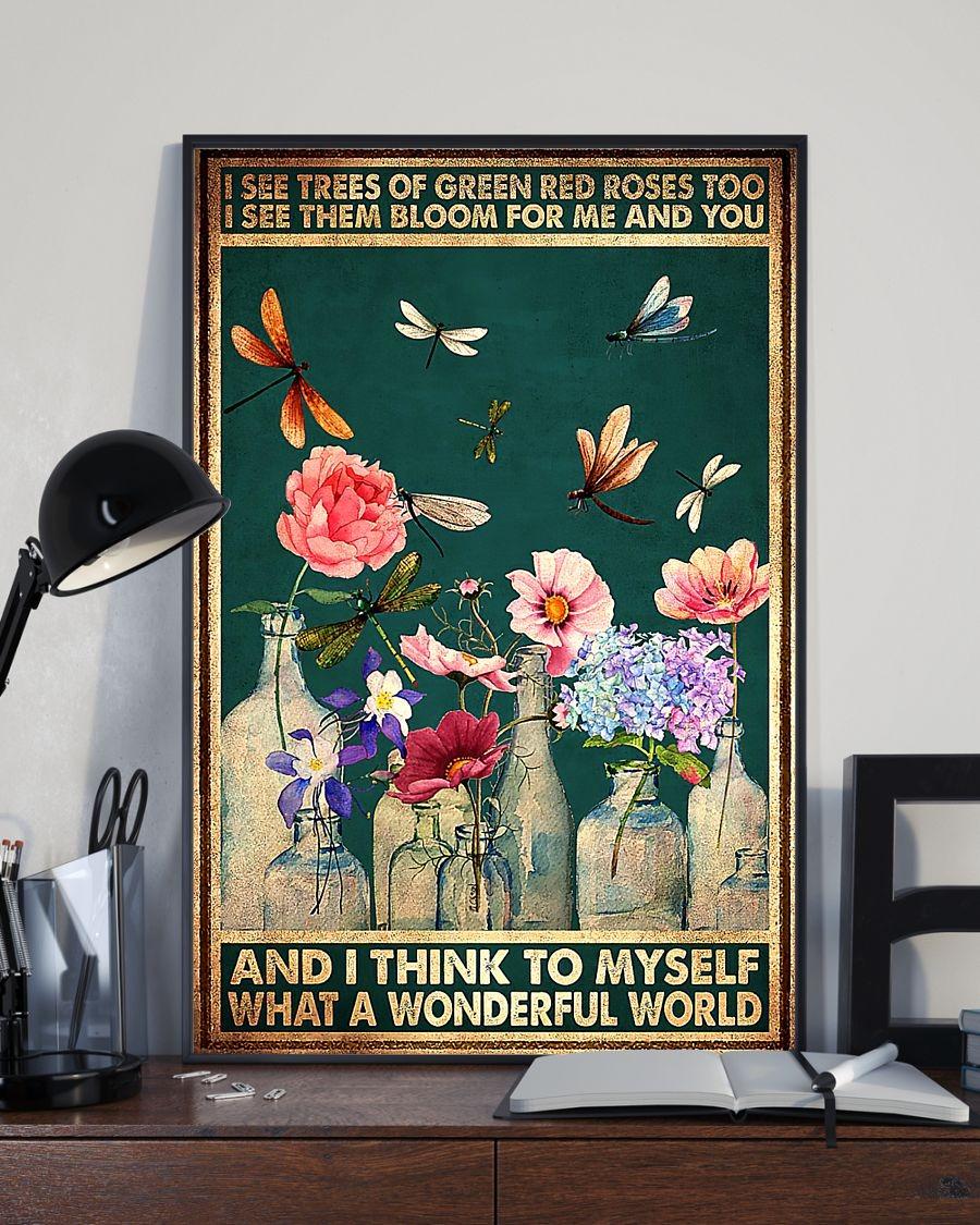 What A Wonderful World lyrics poster 2