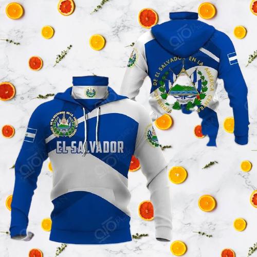 El salvador 3d full print hoodie 7