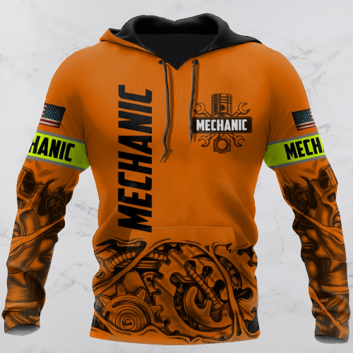 Mechanic just a tip I promise 3d hoodie