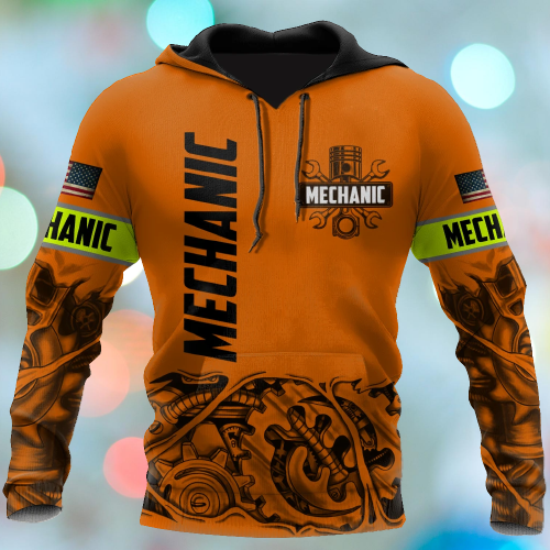 Mechanic just a tip I promise 3d hoodie 7
