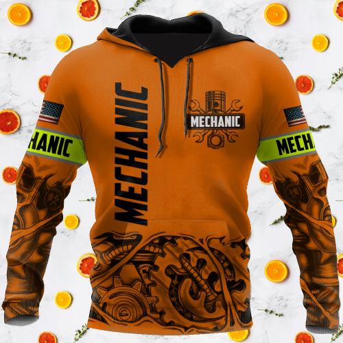 Mechanic just a tip I promise 3d hoodie 5