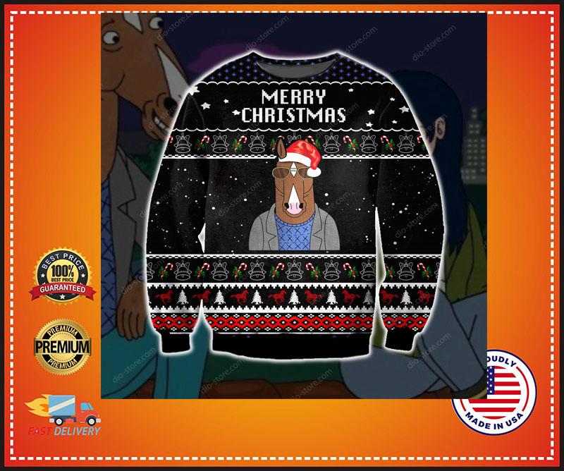 Bojack Horseman merry christmas sweater 7