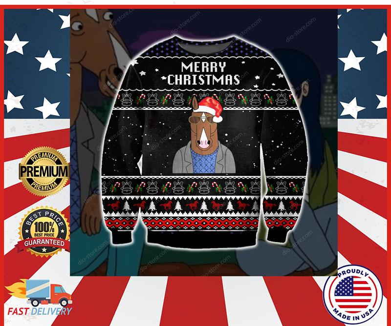 Bojack Horseman merry christmas sweater 5