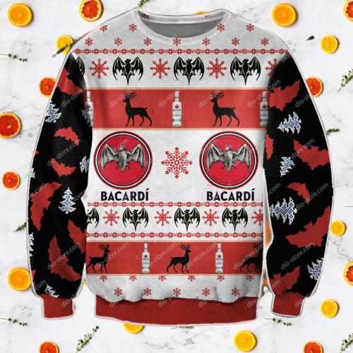 Bacardi wine sweater 7