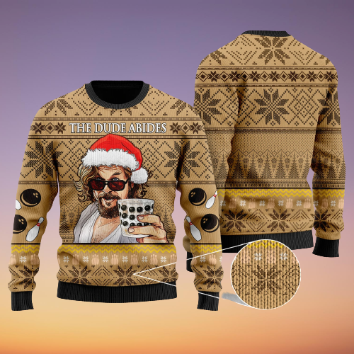 The dude Abides sweater