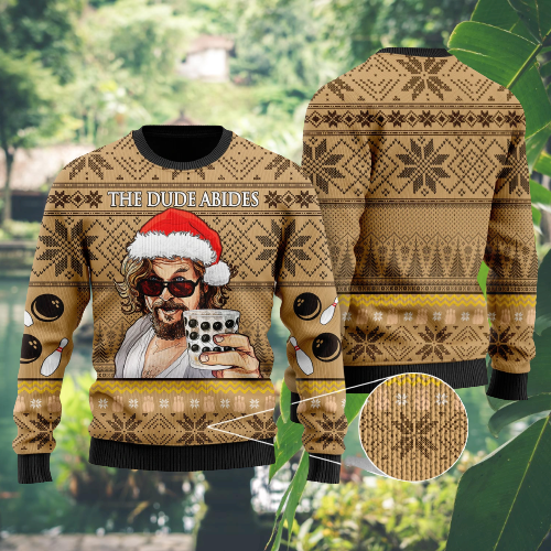 The dude Abides sweater 5