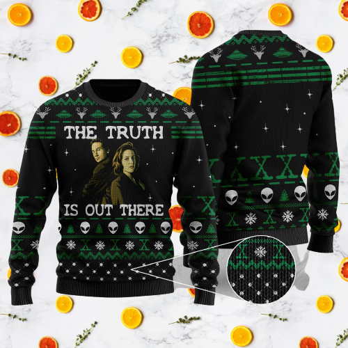 The truth is out there sweater 7