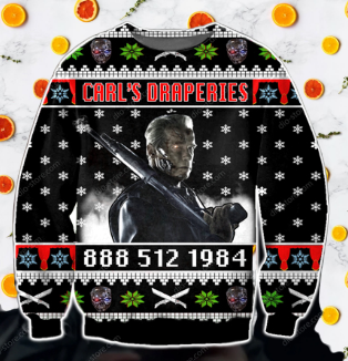 CARL'S DRAPERIES UGLY CHRISTMAS SWEATER
