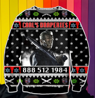 CARL'S DRAPERIES UGLY CHRISTMAS SWEATER 5