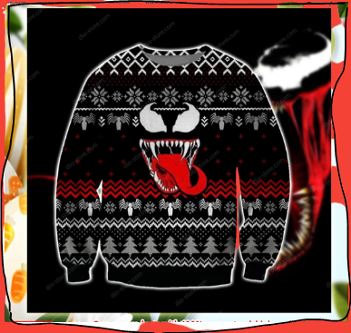 VENOM UGLY CHRISTMAS SWEATER