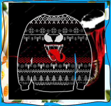VENOM UGLY CHRISTMAS SWEATER 7