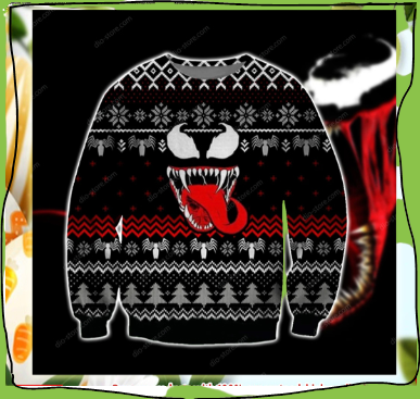 VENOM UGLY CHRISTMAS SWEATER 5