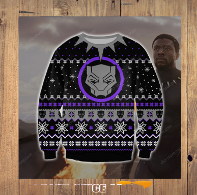 BLACK PANTHER UGLY CHRISTMAS SWEATER 5