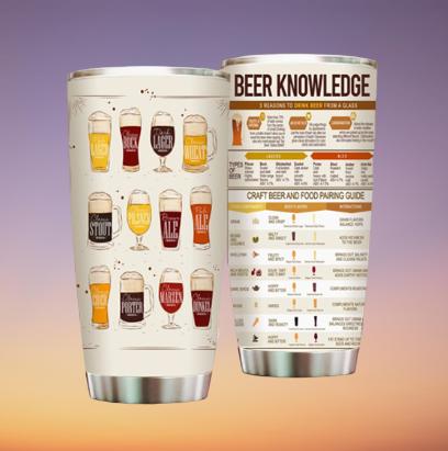 Beer Knowledge Tumbler 5
