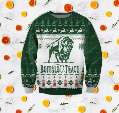 BUFFALO TRACE UGLY CHRISTMAS SWEATER 5