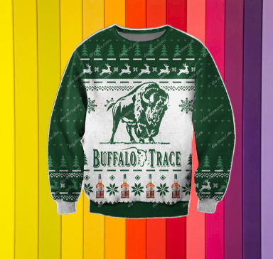 BUFFALO TRACE UGLY CHRISTMAS SWEATER 7