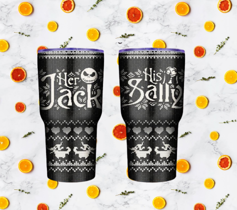 Her Jack His Sally tumbler 7