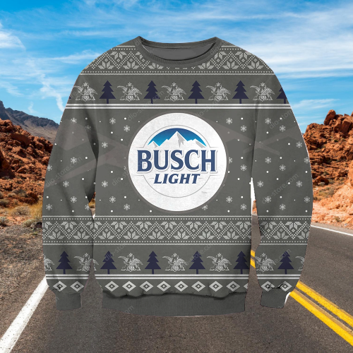 BUSCH LIGHT UGLY CHRISTMAS SWEATER