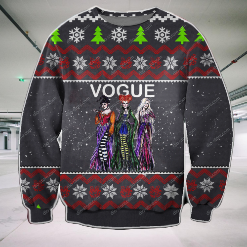 VOGUE UGLY CHRISTMAS SWEATER
