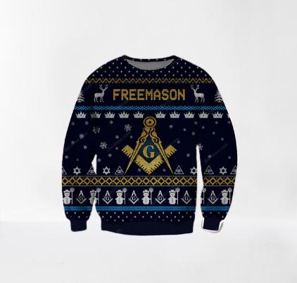 FREEMASON UGLY CHRISTMAS SWEATER