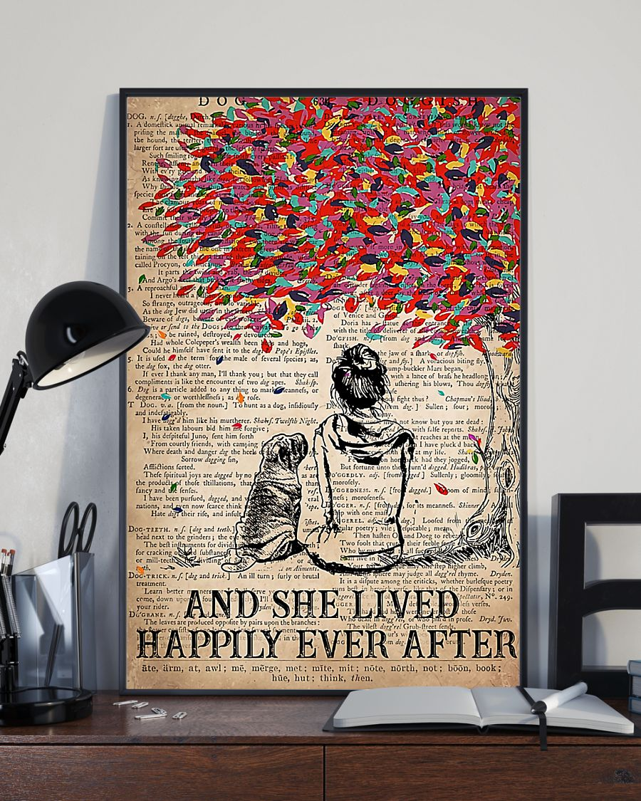 Sharpei and she lived happily ever after poster 5