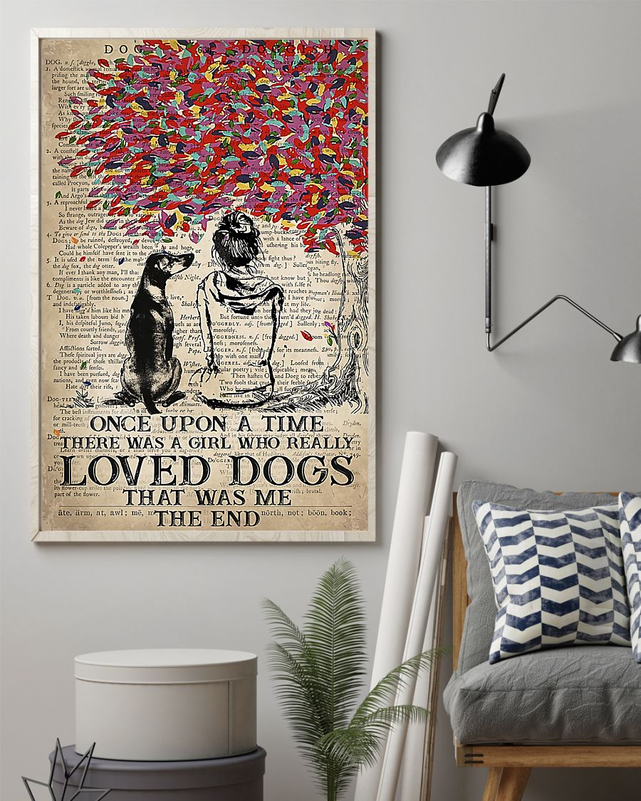 Rhodesian dog once upon a time there was a girl who really loved dogs poster 7