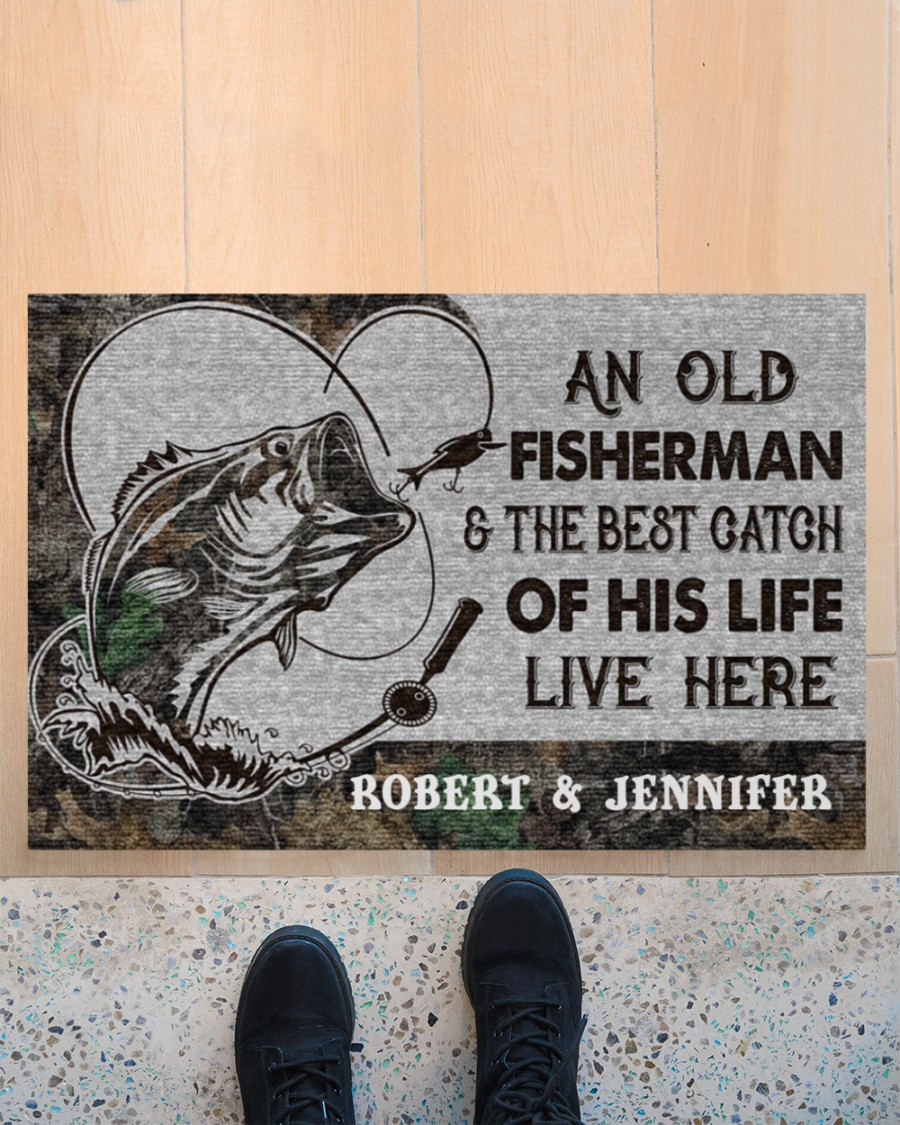 An old fisherman and the best catch of his life live here poster 21