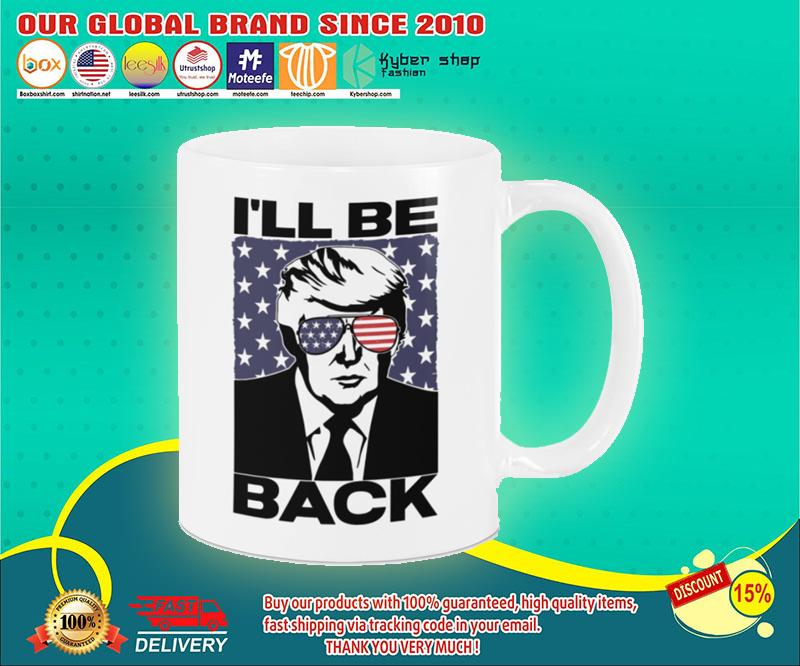 Donald Trump I will be back mug 19