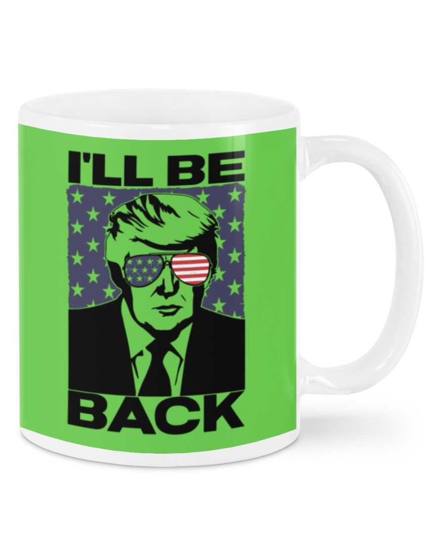 Donald Trump I will be back mug 21
