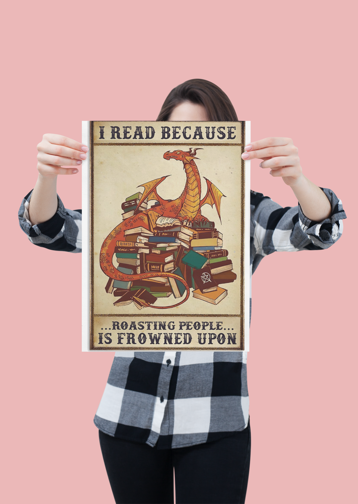 Dragon I read because roasting people is frowned upon poster 19
