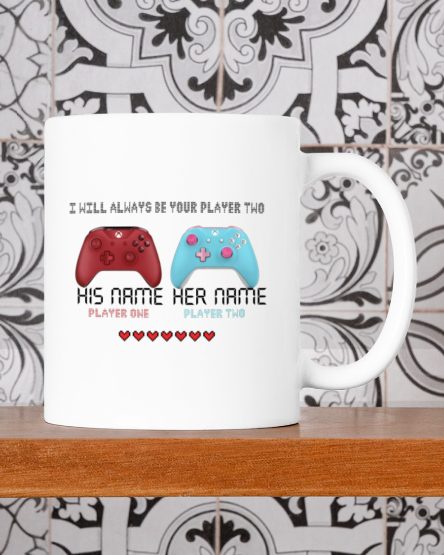 Game controller I will always be your player two mug 21