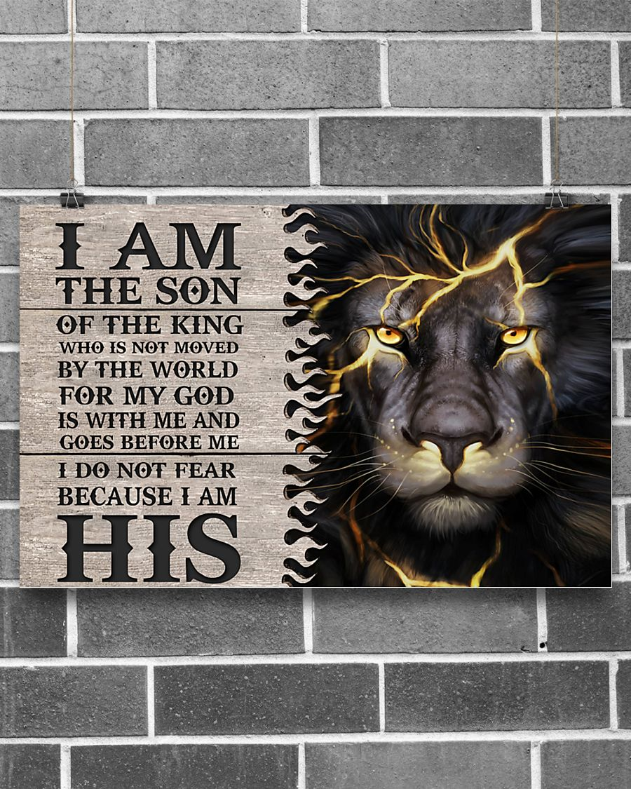 I am the son of the king poster 21