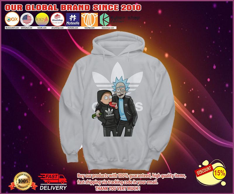 Rick and Morty Adidas shirt 19