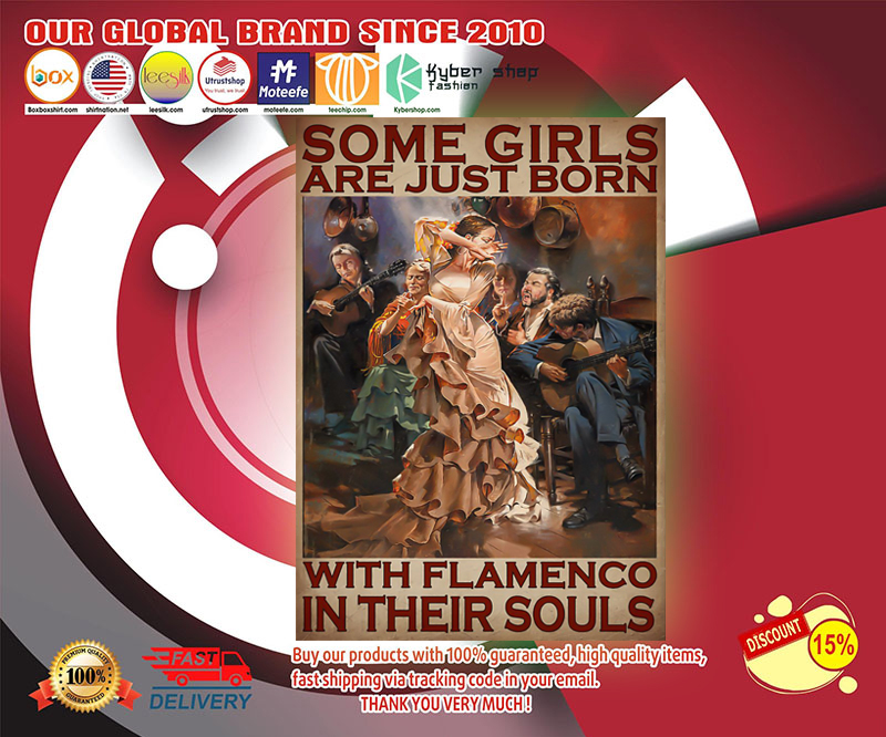 Some girls are just born with flamengo in their souls poster 19